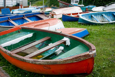 image of old sea fishing boats Stock Photo - 1719679