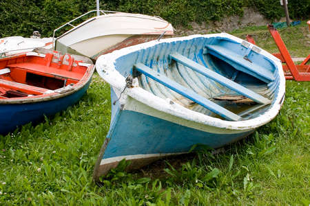 image of old sea fishing boats Stock Photo - 1719681