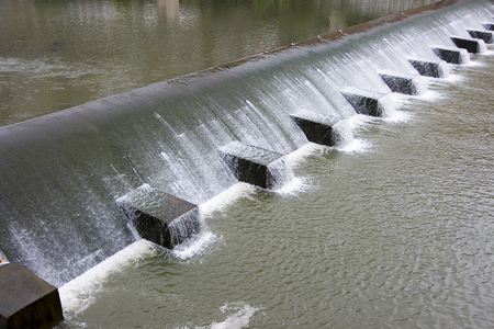 murmur: image of a waterfall in the river