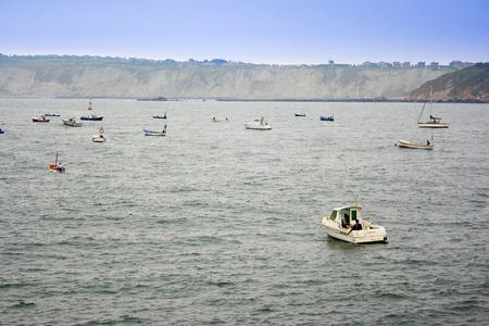 image of old sea fishing boats Stock Photo - 1719668