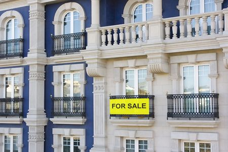 luxury flats and some of them are for sale Stock Photo - 1849675