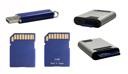 a data storage device for cameras, portable sound devices... photo