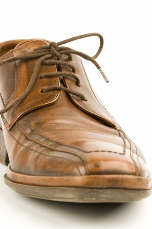 brogues: Business men luxury leather hand made shoes or brogues with shocks and tie