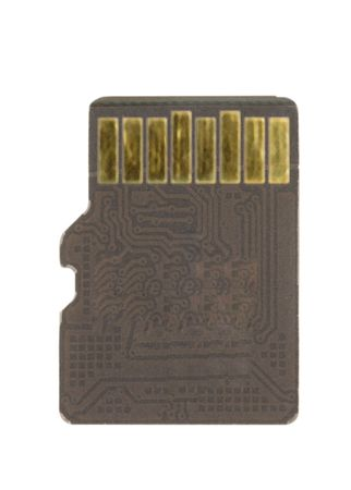 technology objet memory card ready to edit.a data storage device for cameras, portable sound devices photo