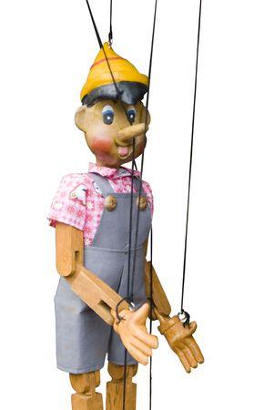 marioneta de madera: marionetas de madera de juguete marioneta cadena controlada pinocho