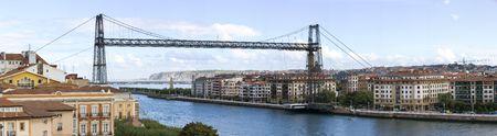 humanidad: puente colgante de Portugalete es el m�s antiguo puente colgante del mundo y es la UNESCO patrimonio de la humanidad