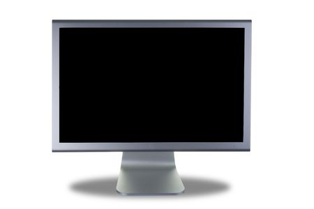 computer lcd or tft monitor with flat screen Stock Photo - 3515329