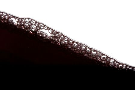 a clear glass of red wine isolated on white background Stock Photo - 3861929