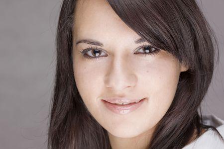 gorgeus: portrait of a gorgeous caucasian young teenager