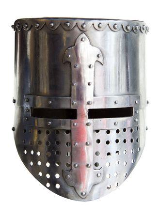 immagine di un vecchio scudo di metallo utilizzato nelle età antica