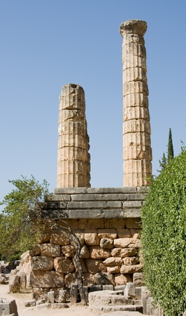 oracle: delphi oracle Greece Stock Photo