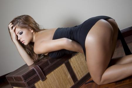 sexy fashion woman Stock Photo