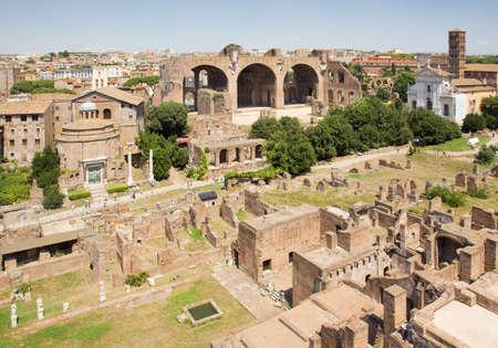 roman forum ruins Stock Photo - 11543887