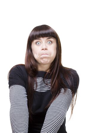 woman expressions Stock Photo - 13742107