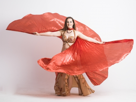 belly dancer woman photo