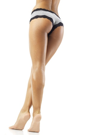 nice butt: nice butt and legs of a incredibly sexy fit woman Stock Photo