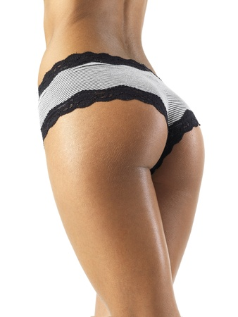 woman ass: nice butt and legs of a incredibly sexy fit woman Stock Photo