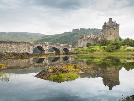 highlander: castello pi� famoso della Scozia. La posizione Highlander