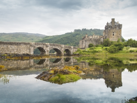 most famous castle in Scotland. The Highlander location