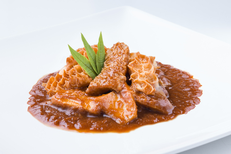 callos traditional spanish recipe 版權商用圖片