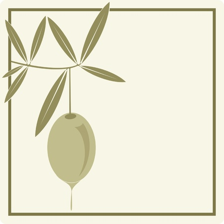 aceite de oliva virgen extra: Etiqueta de aceite de oliva  icono de la marca corporativa o modelo de men�