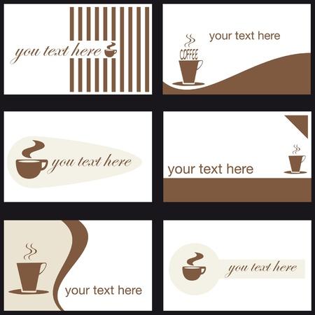 coffee company: Business Card