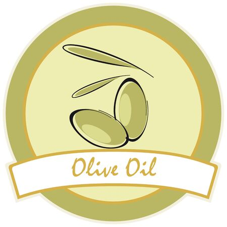 condiment: label  olive oil