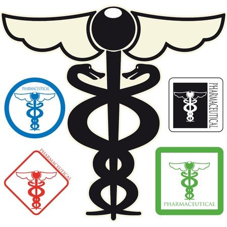 medical drawing: medical symbol