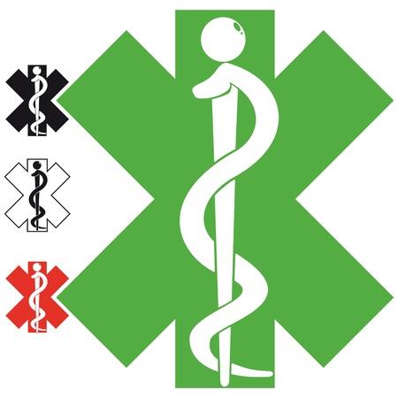 teaches: medical symbol