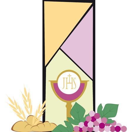 pan y vino: símbolos del cristianismo