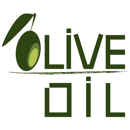 olive logo or packaging Vector