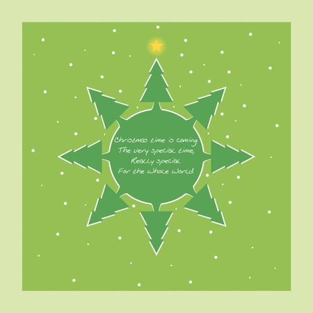 Christmas Card Stock Vector - 11006339