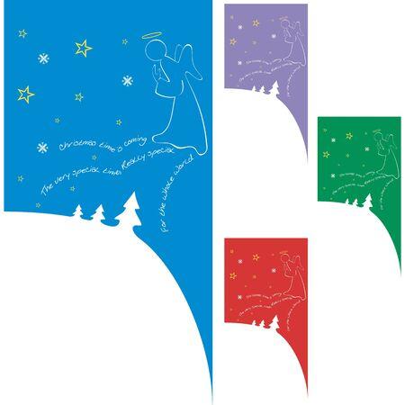 Christmas Card Stock Vector - 11006340