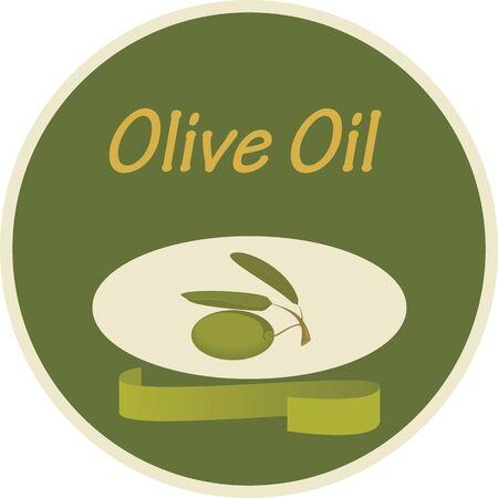 Olive Oil Label Stock Vector - 11376994