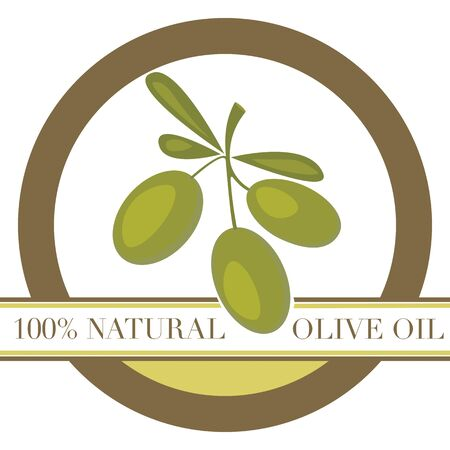 Olive Oil / Label Stock Vector - 11779815