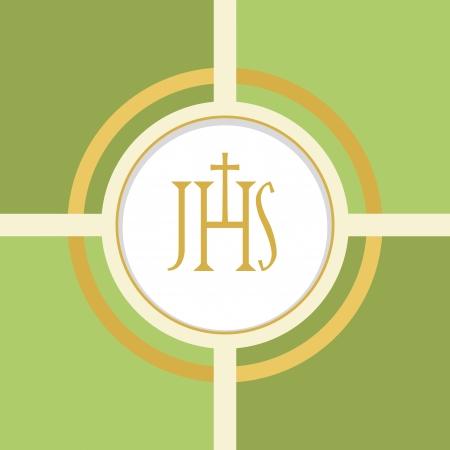 confirmacion: Símbolo cristiano de la Eucaristía Vectores