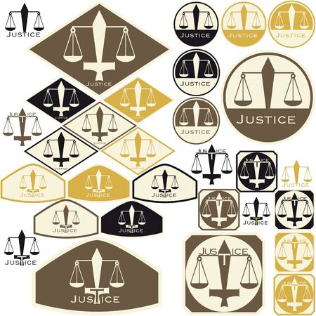 Symbol of the Justice - Tags