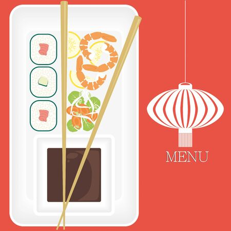 Chinese Food - Menu Vector
