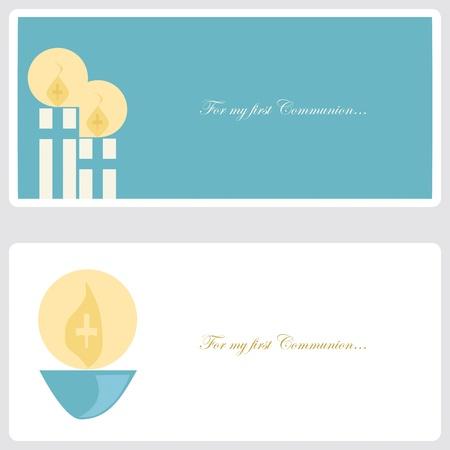 Tarjetas De Invitación Para Evento Religioso Ilustraciones