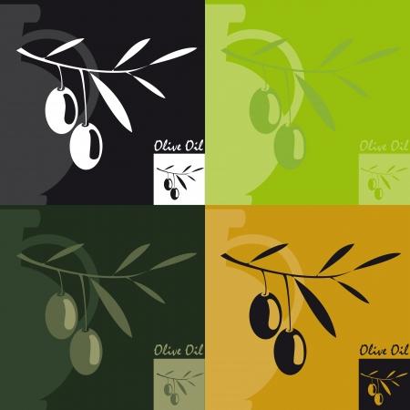 olive Oil Stock Vector - 15121020