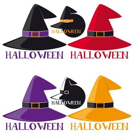 black magic: Halloween Label