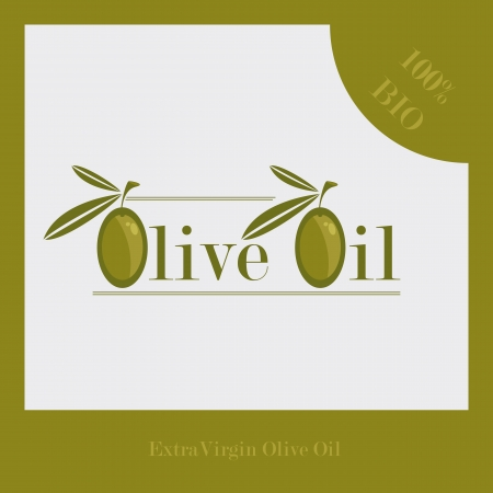 Olive Oil Label Stock Vector - 15397400