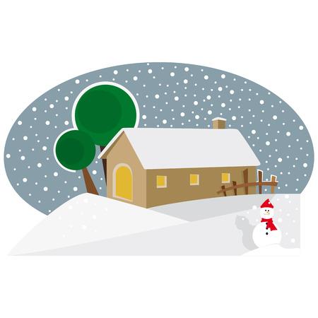 representation: Simple Christmas representation