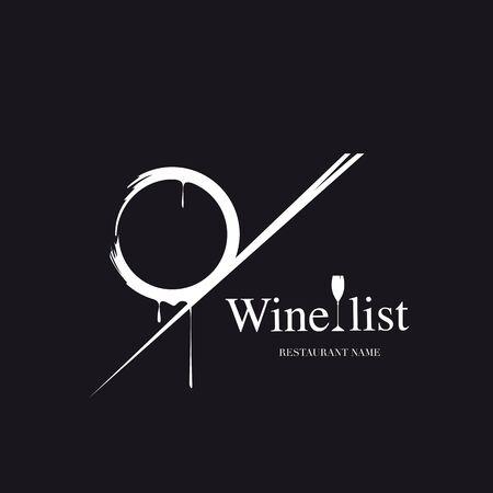 Weinkarte Standard-Bild - 86731250