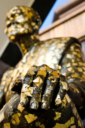 Hand of the buddha statue,Thailand