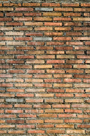 Very old brick wall, East of Thailand