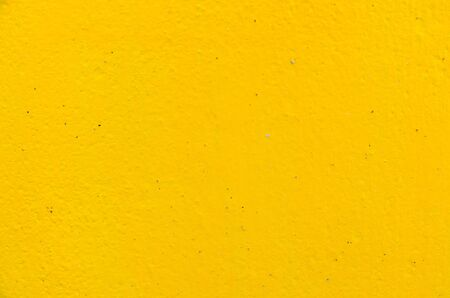 Yellow wall for background photo