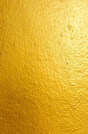 Gold paint wall for background photo