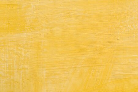 Yellow wall for background use Stock Photo - 18617230