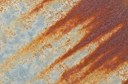 hangar: Old steel plate rusty Stock Photo
